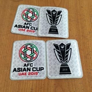 [ Chính Hãng ] Logo Patch Asian Cup 2019 in tay áo bóng đá ĐTQG Việt Nam