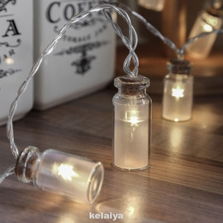 Fairy Garden Save Energy Wine Bottle Shaped String Light