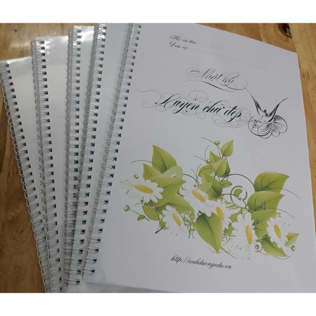 Sổ nhật ký luyện chữ đẹp