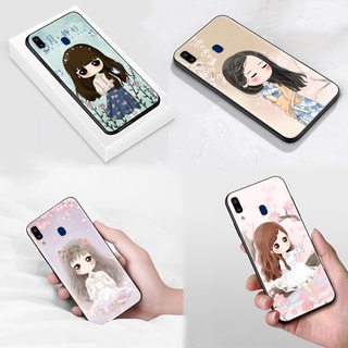 S-39 Cute Girl Soft Silicone Case Casing for Samsung Galaxy S21 S20 FE Note 20 Ultra Plus 8