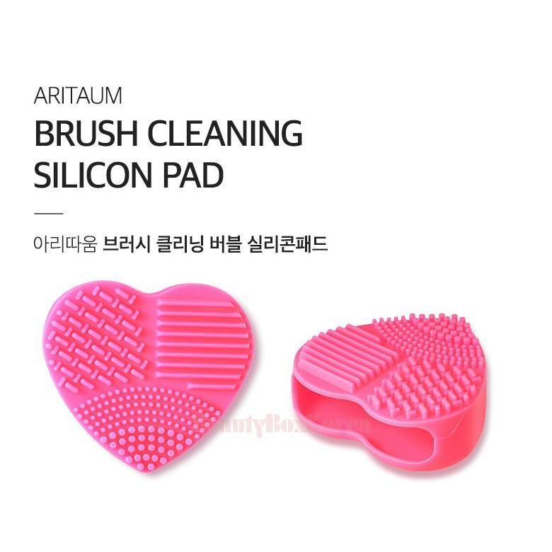 Miếng rửa cọ Aritaum Brush Cleansing Silicon Pad về hàng SALE 50%