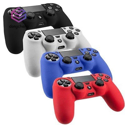 Silicon Soft Case Gel Skin Cover for PlayStation 4 PS4 Controller