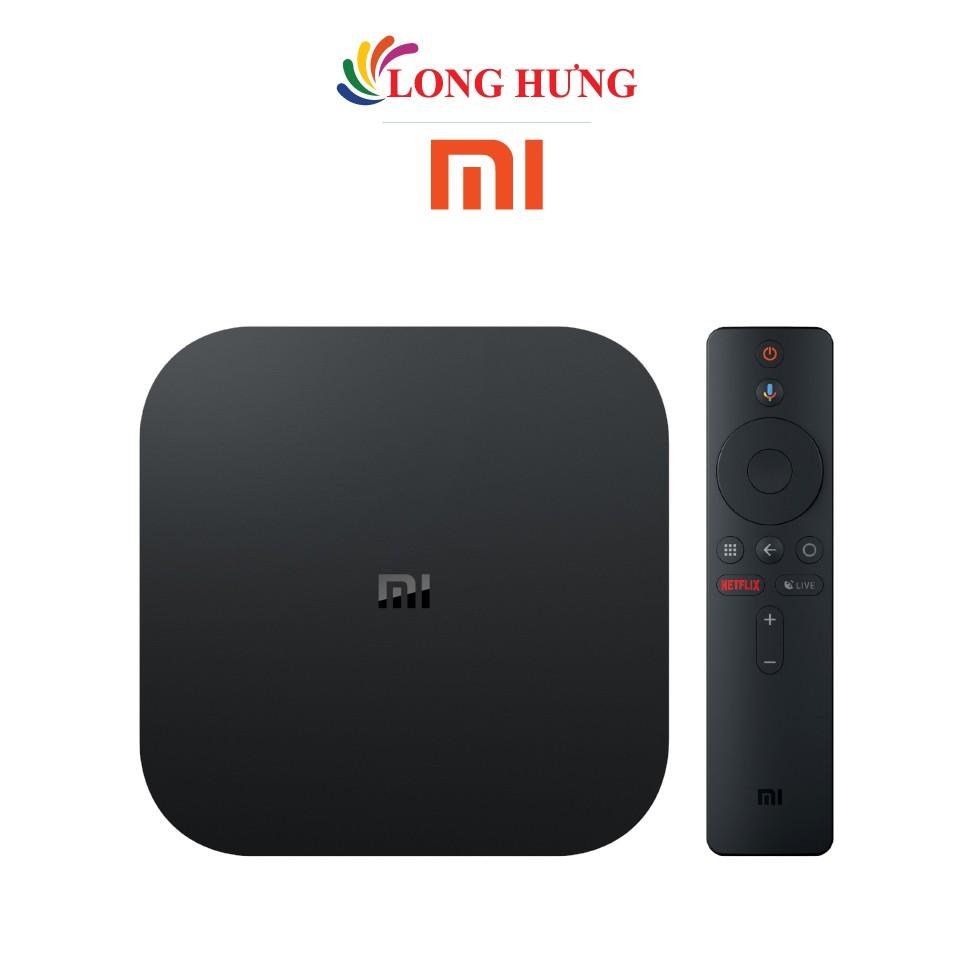 Android Tivi Box Xiaomi Mibox S 4K Ultra HD PFJ4086EU MDZ-22-AB - Hàng chính hãng