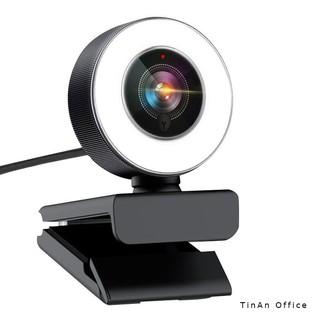 [ 4K 1080P,Micro Digital ]Webcam 4K 3840 x 2160,làm đẹp ánh sáng lấp đầy LED,Sử Dụng Để Gọi, Dạy Học Trực Tuyến, Hội Ng thumbnail