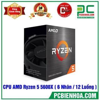 Siêu phẩm CPU AMD Ryzen 5 5600X (3.7GHz Boost 4.6GHz 6 Nhân 12 Luồng 32MB Cache PCIe 4.0) chính hãng 36T thumbnail