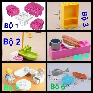 Bộ các chi tiết nội thất tương thích lego duplo thumbnail
