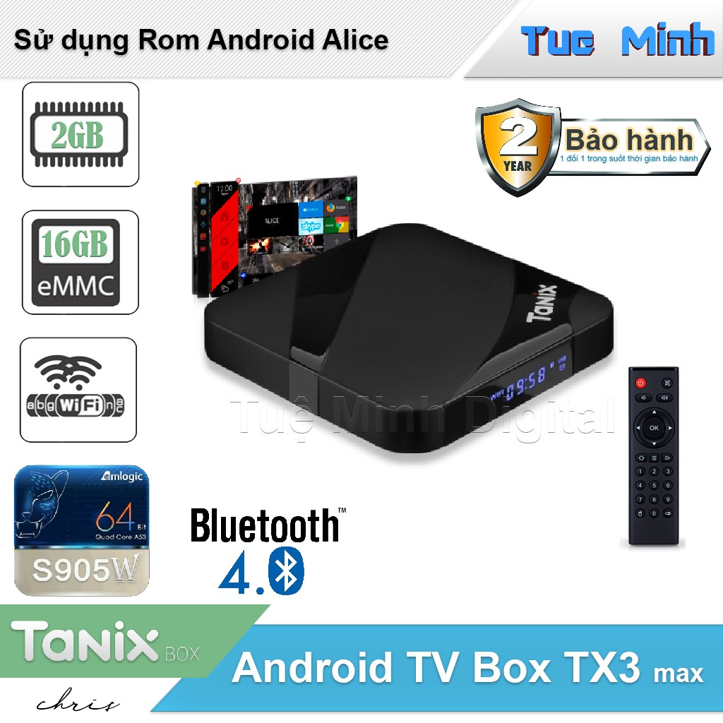 Android TX3 Max - CPU S905W, Ram 2G, Rom 16G, Bluetooth 4.0 - 3169171 , 1328662155 , 322_1328662155 , 890000 , Android-TX3-Max-CPU-S905W-Ram-2G-Rom-16G-Bluetooth-4.0-322_1328662155 , shopee.vn , Android TX3 Max - CPU S905W, Ram 2G, Rom 16G, Bluetooth 4.0