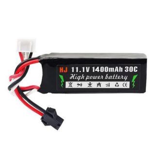 Pin Lipo 11.1v 3s 1400mah 30c Mini