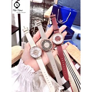 ( Sẵn 5 màu ) Đồng hồ nữ SWAROVSKI CRYSTALLINE GLAM WATCH 5452 case 35mm. 5atm thumbnail