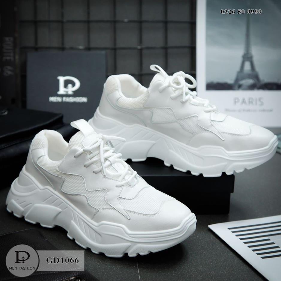 Giày Sneaker Nam - Unisex - Giày Thể Thao Cao Cấp - Da cao cấp - GD1066 HTshop