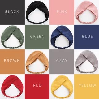 XPK386 Phụ kiện tóc băng đô turban nữ gân chất liệu thun thời trang hàn quốc dễ thương thumbnail
