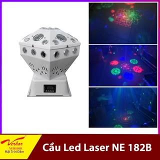 Cầu Led Cảm Ứng Bông LED +Laser NE-182B