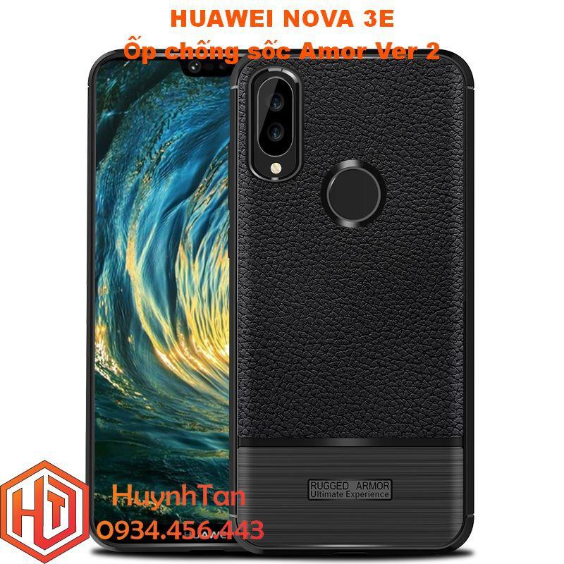 Ốp lưng Huawei Nova 3E _ Ốp chống sốc Amor ver 2