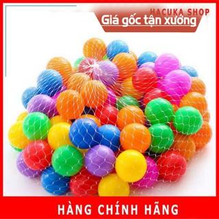 Túi 100 quả bóng nhựa nhiều màu thumbnail