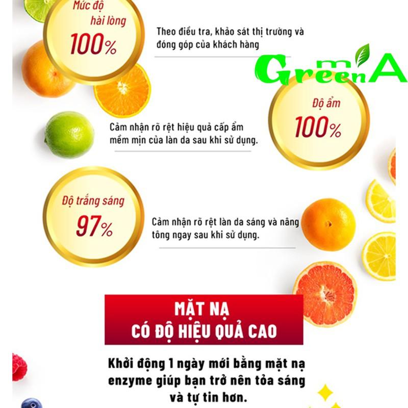 Mặt nạ lên men trái cây dưỡng trắng cấp ẩm Sexylook Đài Loan cao cấp