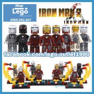 Xếp hình Iron Man tuyển tập Avengers Endgame Lego Minifigures Sy179 thumbnail