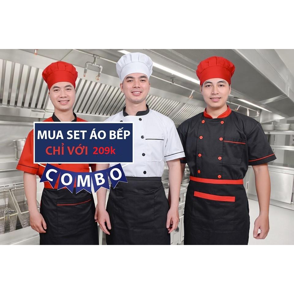 Bộ Đồng Phục Đầu Bếp