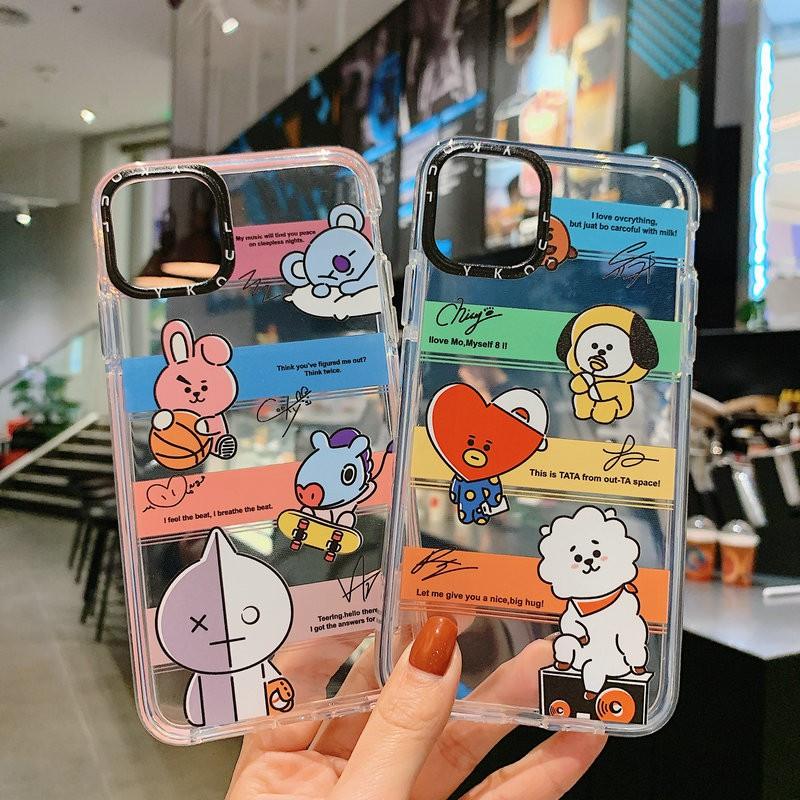 JSC  Ốp điện thoại cho OPPO A31 2020 A3s A5s A7 A12 A1K K3 K5 Ace F9 F11 Pro Reno 2 2F Rainbow Cartoon Cute BT21 Animal Universe Soft Case