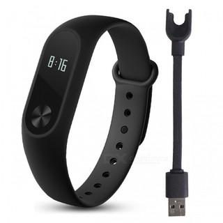 Vòng đeo tay thông minh Xiaomi Miband 2 (Đen) - Hàng chính hãng New full box nguyên seal DGW