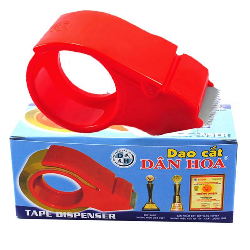 Dao Cắt Băng Keo 5F Nhựa/Sắt loại 100 yard/ 200 yard/0.5kg/1kg/ Băng keo văn phòng phẩm bc200