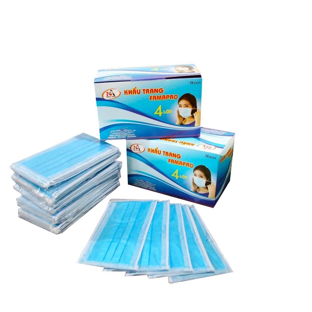 [Freeship HCM&Hà Nội] Bộ 5 hộp khẩu trang y tế kháng khuẩn 4 lớp lọc Nam Anh (Xanh) (Hộp 50 Cái) - 3360193 , 804384871 , 322_804384871 , 150000 , Freeship-HCMHa-Noi-Bo-5-hop-khau-trang-y-te-khang-khuan-4-lop-loc-Nam-Anh-Xanh-Hop-50-Cai-322_804384871 , shopee.vn , [Freeship HCM&Hà Nội] Bộ 5 hộp khẩu trang y tế kháng khuẩn 4 lớp lọc Nam Anh (Xanh) (