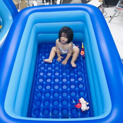 Bể bơi phao Đủ Cỡ hồ bơi bơm hơi cho trẻ em bé MẪu MỚI 2021 ( loại 3 tầng) .