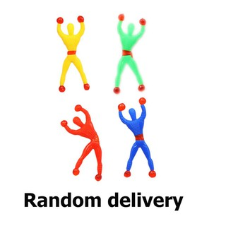 ♥No♥Novelty Sticky Wall Climbing Flip Spiderman Climber Classic Toys Kids Gifts