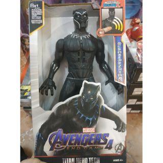 Mô hình Avengers nhân vật Black Panther 30cm nhạc đèn