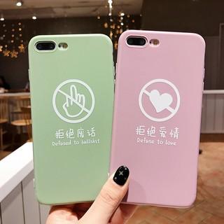 iPhone X Xs Max Xr 7 8 Plus 6 6S Plus Casing Fashion Soft TPU Case