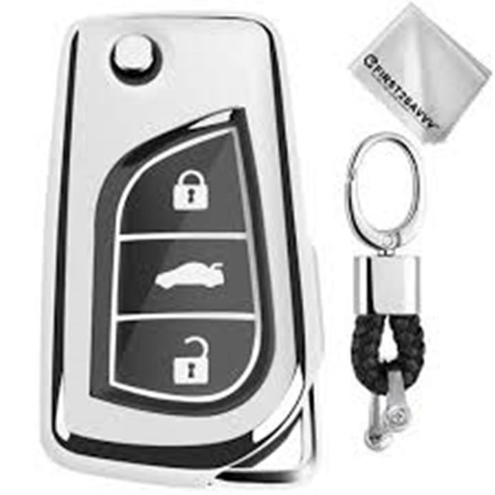 Bao chìa khóa bằng TPU, ốp chìa khóa ô tô dùng riêng cho xe Toyota Innova, Fortuner, Camry, Altis, Wigo