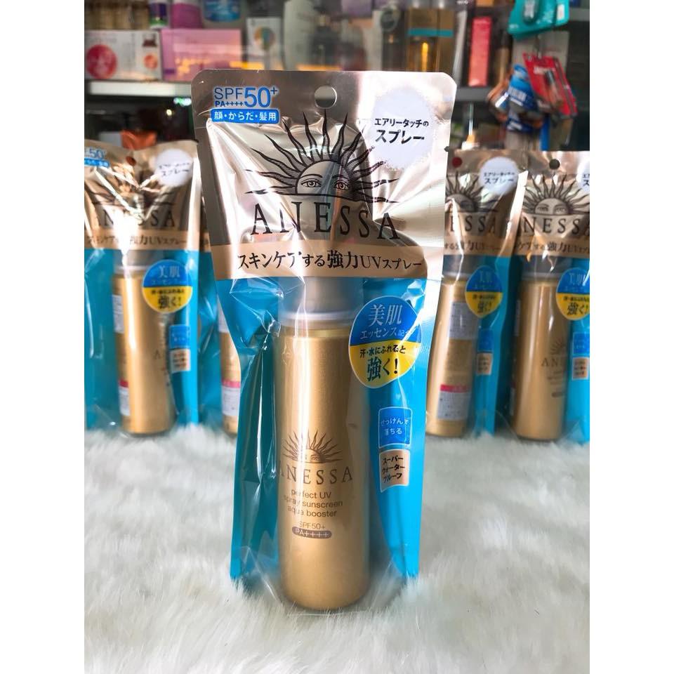 (SX Nhật Bản 60g) Xịt chống nắng bảo vệ hoàn hảo Anessa Perfect UV Sunscreen Skincare Spray Aqua Boo - 3292852 , 1281480329 , 322_1281480329 , 480000 , SX-Nhat-Ban-60g-Xit-chong-nang-bao-ve-hoan-hao-Anessa-Perfect-UV-Sunscreen-Skincare-Spray-Aqua-Boo-322_1281480329 , shopee.vn , (SX Nhật Bản 60g) Xịt chống nắng bảo vệ hoàn hảo Anessa Perfect UV Sunscr