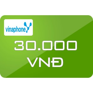 Nạp tiền Vinaphone 30K
