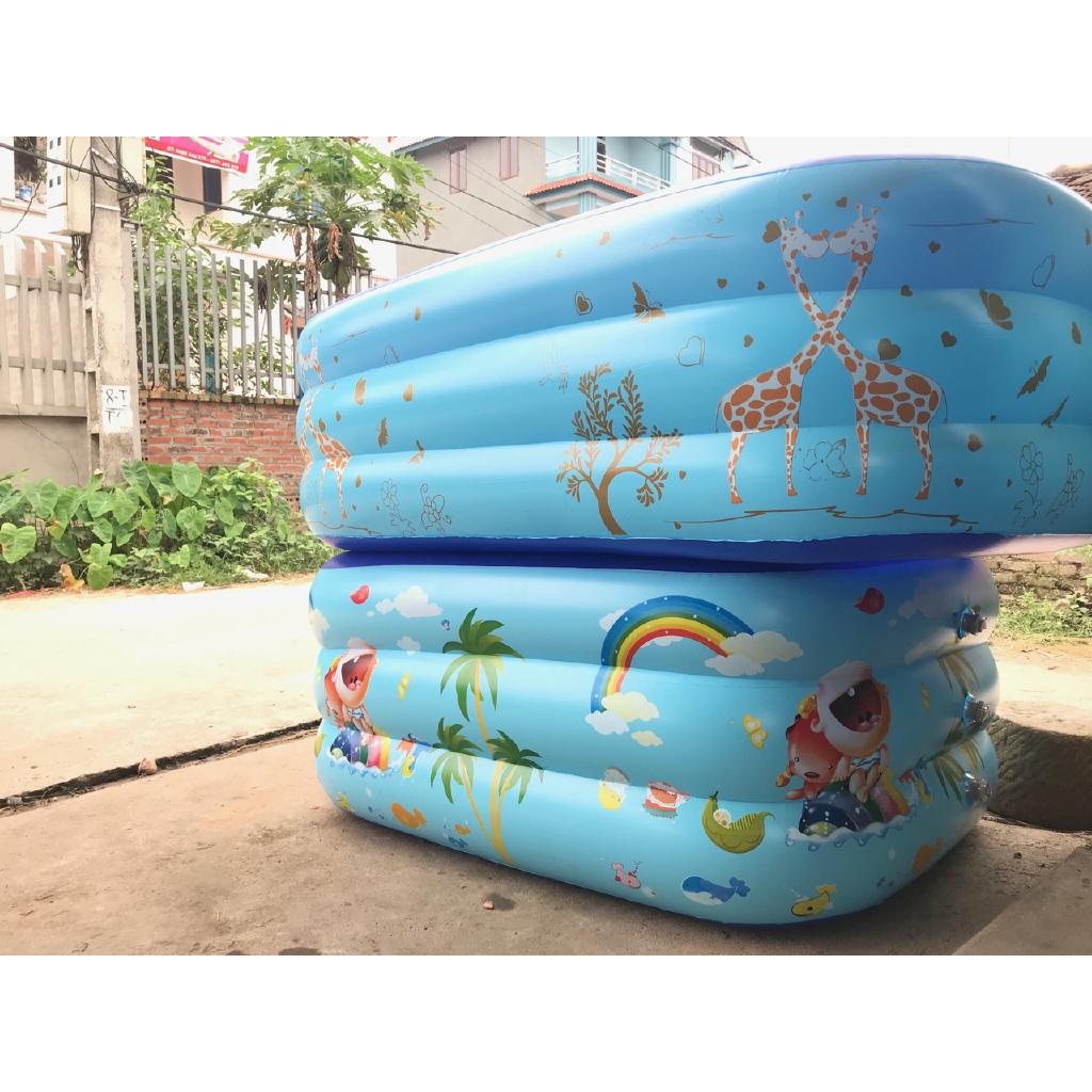 Bể bơi 3 tầng 1m5 (loại 1)