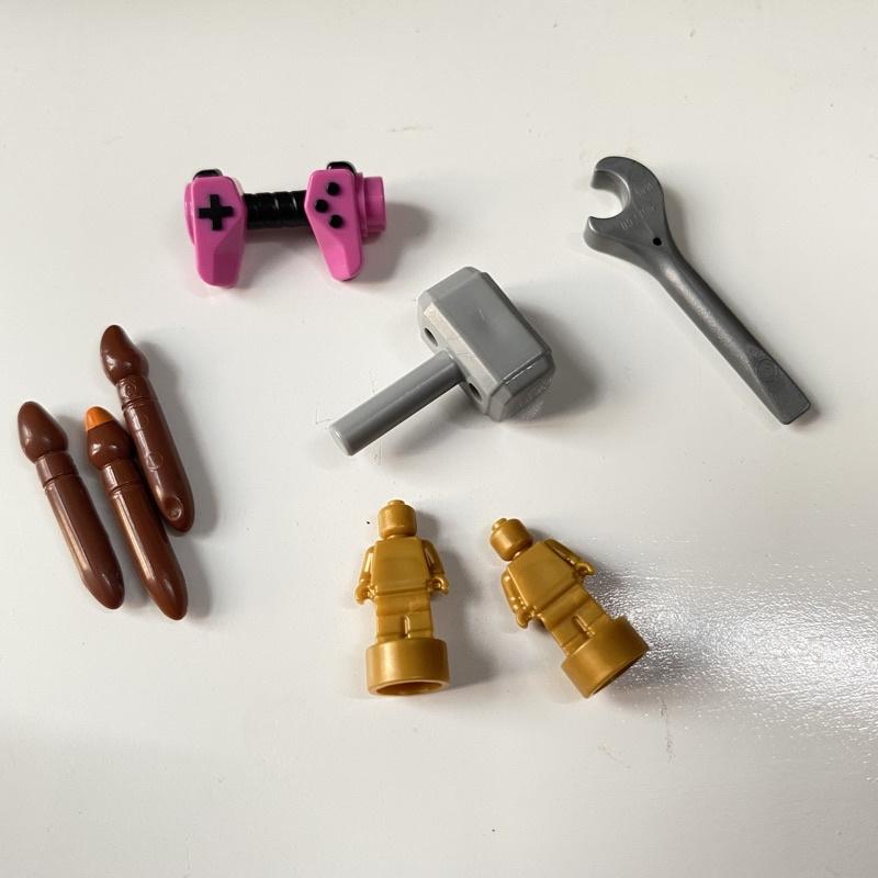 Phụ kiện Lego chính hãng mini part bút vẽ