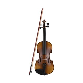 4/4 Full Size Classic Violin Fiddle High-grade Spruce Topboard & Backboard with Violin Bow Bridge Padded Carry Case Shou