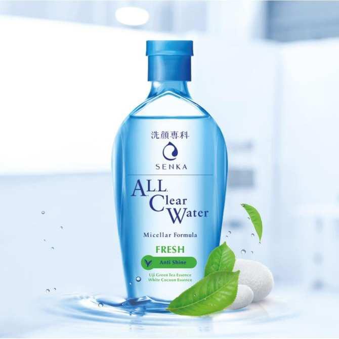 Nước Tẩy Trang Sạch Thoáng Senka Trà Xanh A.L.L.Clear Water Fresh 230ml