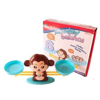 Bộ đồ chơi khỉ cân thăng bằng giúp bé say mê học Toán loai dep
