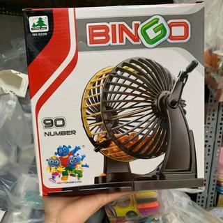 Bộ lô tô Bingo 90 số – Bingo 90 number loại lớn