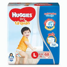 Tả Quần Huggies L68 ( 9-14kg)