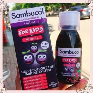 💎 [ HÀNG CHÍNH HÃNG ] Sambucol siro tăng sức đề kháng cho bé trên 1 tuổi 120ml
