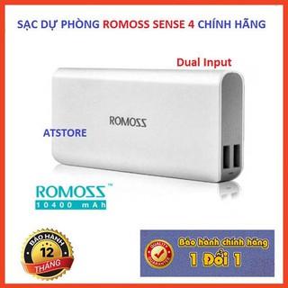 Pin Sạc Dự Phòng Romoss Sense 4 10000 MAh Chính Hãng – BH 1 Năm