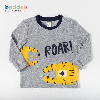 Áo thun dài tay Beddep Kids Clothes in hình cho bé trai từ 1 đến 8 tuổi B04 thumbnail