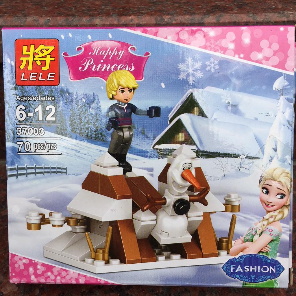 Xếp hình Lego Frozen Nhân vật Kristoff và Olaf - 70 chi tiết