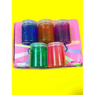 đồ chơi slime -chất nhờn mềm lọ to màu trắng kèm nước tạo màu mã VUH72 Lsp14