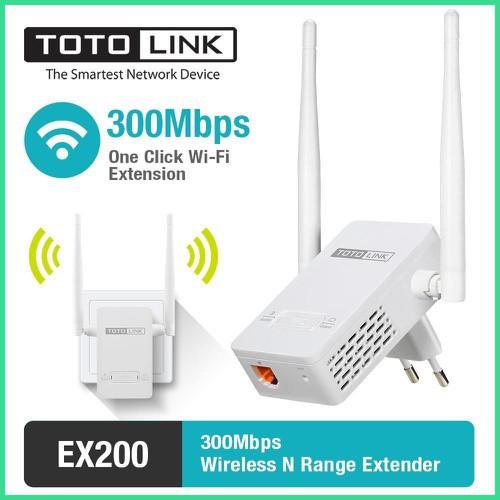 Bảng giá Bộ Kích Sóng Wifi Repeater 300Mbps Totolink Ex200 - Hàng Phong Vũ