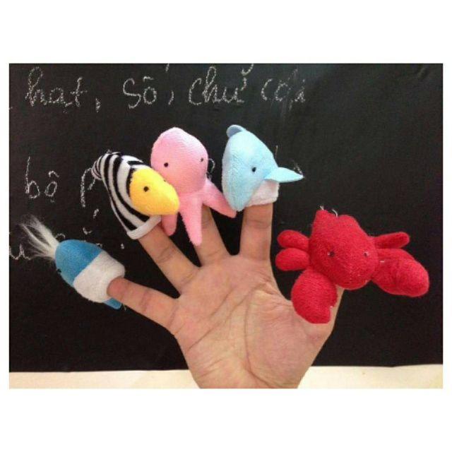Rối ngón kể chuyện – Chủ đề Sinh vật biển