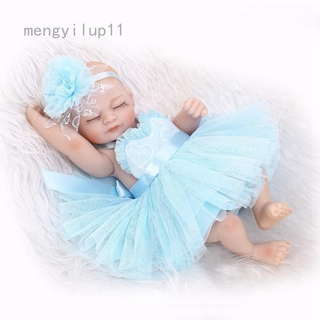 Simulation Full Body Silicone Reborn Baby Doll For Girls Baby Alive Soft Toys For Children Doll Gift