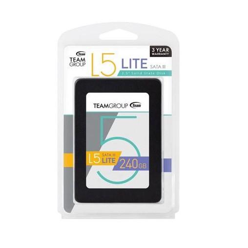 Ổ Cứng SSD Team Group SSD Ultra L5 Sata III - 240GB (Xám đen)
