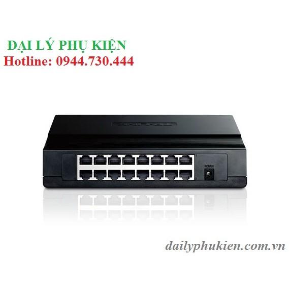Bảng giá Phụ kiện SIÊU RẺ_ Switch chia mạng TP Link TL SF1016D Phong Vũ