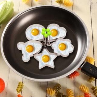 Khuôn chiên trứng giúp rán trứng thành nhiều hình đẹp, ngỗ nghĩnh bằng inox thumbnail